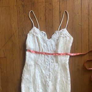 Vintage Dresses - Sz 4 Vintage Lace Dress